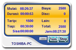 timer client indobilling