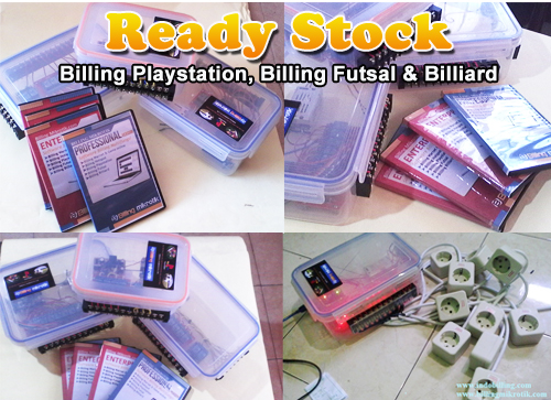 billing playstation dan futsal murah